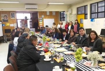 Desayuno especial a nuestros funcionarios Asistentes de la Educación.