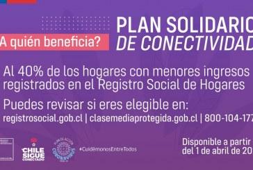"""""""Plan Solidario de Conectividad """""""