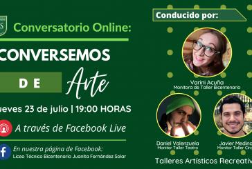 """""""Conversando de Arte""""."""