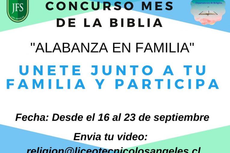 Concurso mes de la Biblia