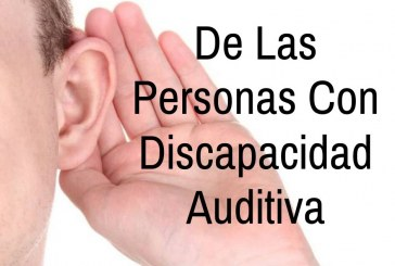 Semana de la Discapacidad Auditiva .