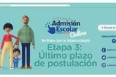 SISTEMA DE ADMISIÓN ESCOLAR 2020
