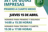 II SET DE GUÍAS IMPRESAS