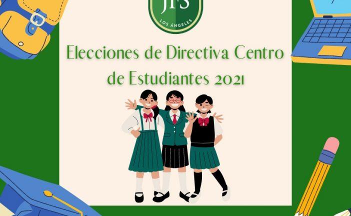 ELECCIONES DIRECTIVAS CENTRO DE ESTUDIANTES 2021