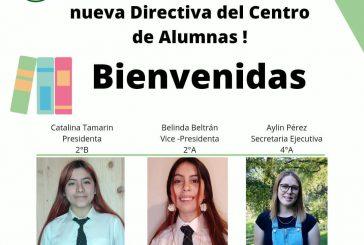 NUEVA DIRECTIVA DEL CENTRO DE ESTUDIANTES DE NUESTRO ESTABLECIMIENTO.