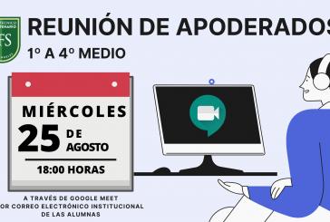 REUNIÓN DE APODERADOS.